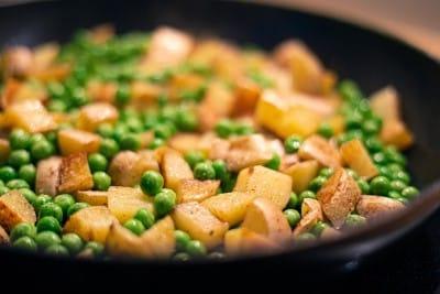 Bombay potatoes and peas - Webshealth